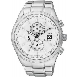 Buy Men's Citizen Watch Chrono Eco-Drive Radio Controlled AT8011-55A