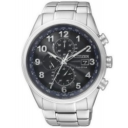 Buy Men's Citizen Watch Chrono Eco-Drive Radio Controlled AT8011-55L