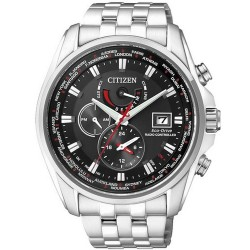 Men's Citizen Watch Radio Controlled Chrono Eco-Drive AT9030-55E