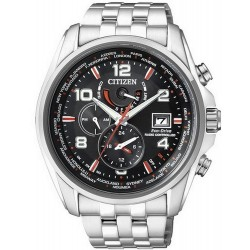 Men's Citizen Watch Radio Controlled Chrono Eco-Drive AT9030-55F