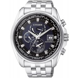 Buy Men's Citizen Watch Radio Controlled Chrono Eco-Drive AT9030-55L
