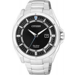 Men's Citizen Watch Super Titanium Eco-Drive AW1400-52E