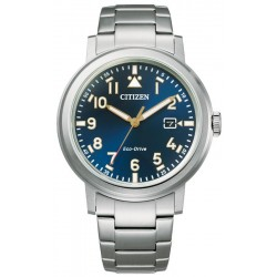 Men's Citizen Watch Military Eco Drive AW1620-81L