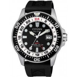 Men's Citizen Watch Promaster Diver's Eco-Drive Super Titanium GMT BJ7110-11E