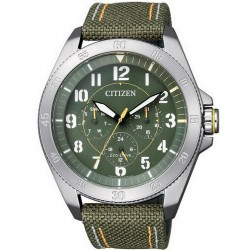 Men's Citizen Watch Military Eco-Drive BU2030-09W Multifunction