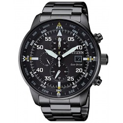 Buy Men's Citizen Watch Aviator Chrono Eco-Drive CA0695-84E