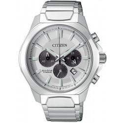 Men's Citizen Watch Super Titanium Chrono Eco-Drive CA4320-51A