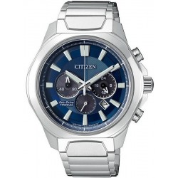Men's Citizen Watch Super Titanium Chrono Eco-Drive CA4320-51L