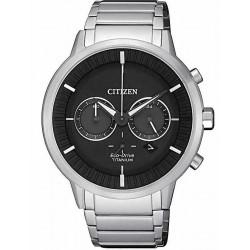 Men's Citizen Watch Super Titanium Chrono Eco-Drive CA4400-88E