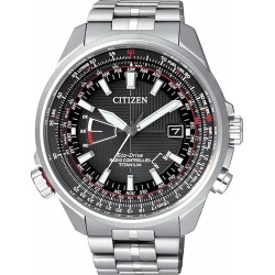 Men's Citizen Watch Pilot Radio Controlled Titanium Evolution 5 CB0140-58E