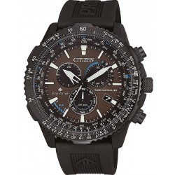 Buy Men's Citizen Watch Radio Controlled Chrono Pilot CB5005-13X