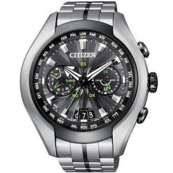 Men's Citizen Watch Satellite Wave Air Eco-Drive Titanium CC1054-56E