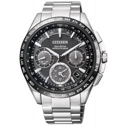 Men's Citizen Watch Satellite Wave GPS F900 Eco-Drive Titanium CC9015-54E