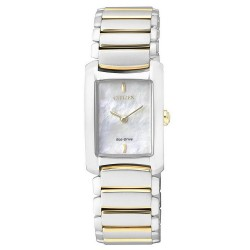 Buy Women's Citizen Watch Eco-Drive EG2975-50D Mother of Pearl