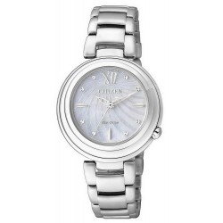 Women's Citizen Watch Eco-Drive EM0331-52D Mother of Pearl