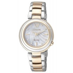 Buy Women's Citizen Watch Eco-Drive EM0335-51D Mother of Pearl