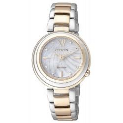 Buy Women's Citizen Watch Eco-Drive EM0335-51D Mother of Pearl