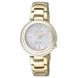 Buy Women's Citizen Watch Eco-Drive EM0336-59D Mother of Pearl