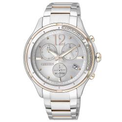 Women's Citizen Watch Chrono Eco-Drive FB1375-57A Diamonds