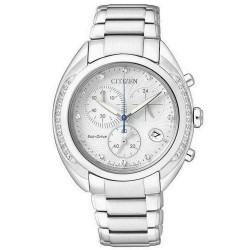 Buy Women's Citizen Watch Chrono Eco-Drive FB1381-54A Diamonds