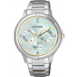 Women's Citizen Watch Eco-Drive FD2034-50W Multifunction