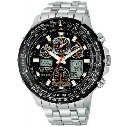 Men's Citizen Watch Radio Controlled Promaster Skyhawk Titanium JY0080-62E
