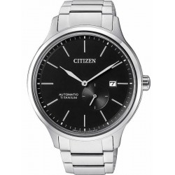 Men's Citizen Watch Super Titanium Mechanical NJ0090-81E