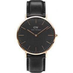 Buy Men's Daniel Wellington Watch Classic Black Sheffield 40MM DW00100127