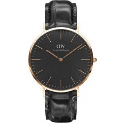 Buy Men's Daniel Wellington Watch Classic Black Reading 40MM DW00100129