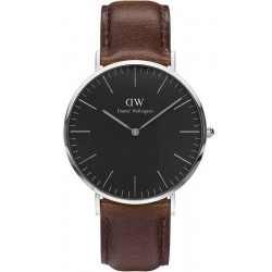 Buy Men's Daniel Wellington Watch Classic Black Bristol 40MM DW00100131