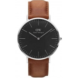 Buy Men's Daniel Wellington Watch Classic Black Durham 40MM DW00100132