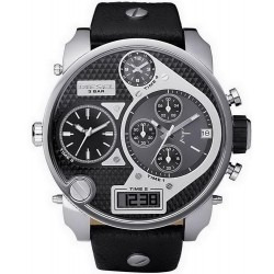 Men's Diesel Watch Mr. Daddy DZ7125 Chronograph 4 Time Zones