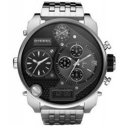 Men's Diesel Watch Mr. Daddy DZ7221 Chronograph 4 Time Zones