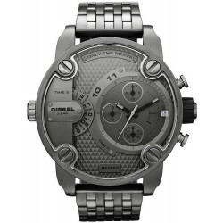 Buy Men's Diesel Watch Little Daddy DZ7263 Dual Time Chronograph