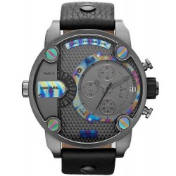 Buy Men's Diesel Watch Little Daddy DZ7270 Dual Time Chronograph