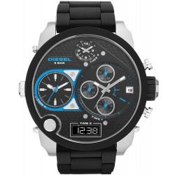 Men's Diesel Watch Mr. Daddy DZ7278 Chronograph 4 Time Zones