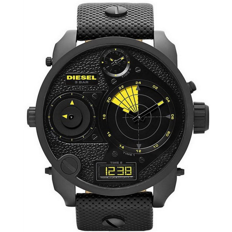 9e21d6c9342 Men s Diesel Watch Mr. Daddy - RDR DZ7296 4 Time Zones - Crivelli ...