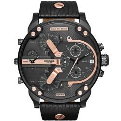 Men's Diesel Watch Mr. Daddy 2.0 DZ7350 Chronograph 4 Time Zones