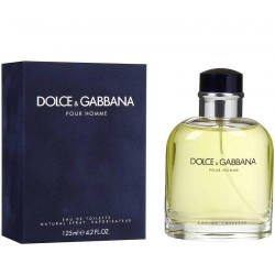 Dolce & Gabbana Pour Homme Perfume for Men Eau de Toilette EDT 125 ml