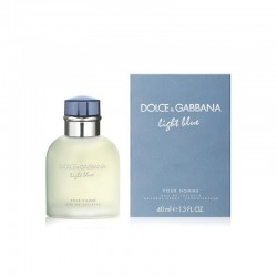 Dolce & Gabbana Light Blue Perfume for Men Eau de Toilette EDT 40 ml