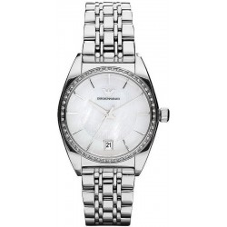Women's Emporio Armani Watch Franco AR0379 Mother of Pearl