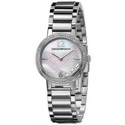 Buy Women's Emporio Armani Watch Classic AR0746 Mother of Pearl