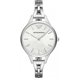 Buy Women's Emporio Armani Watch Aurora AR11054 Mother of Pearl