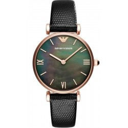 Buy Women's Emporio Armani Watch Gianni T-Bar AR11060 Mother of Pearl