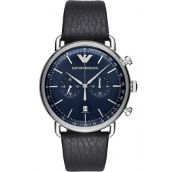 Buy Men's Emporio Armani Watch Aviator AR11105 Chronograph