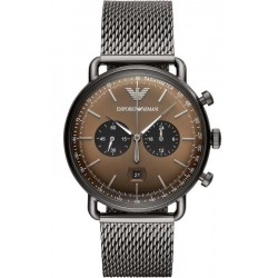 Buy Men's Emporio Armani Watch Aviator AR11141 Chronograph