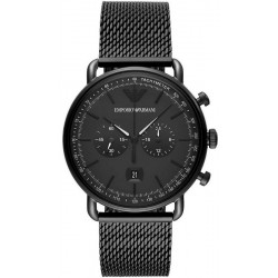 Buy Men's Emporio Armani Watch Aviator AR11264 Chronograph