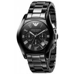 Men's Emporio Armani Watch Ceramica AR1400 Chronograph