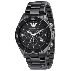 Men's Emporio Armani Watch Ceramica AR1421 Chronograph