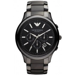 Men's Emporio Armani Watch Ceramica AR1452 Chronograph